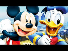 mickey mouse u0026 donald duck play gta 5 funny voice trolling