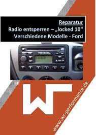 ford radio entsperren 6000cd locked 10 locked 13 tuning und