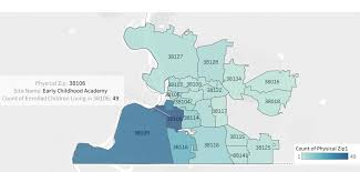 Shelby County Zip Code Map by Preschool Early Childhood Academy