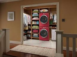 chic cabinet brown wooden storage clothes for your small bedroom