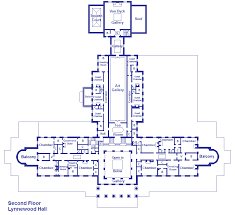 lynnewood hall 2nd floor gilded era mansion floor plans lynnewood hall second floor hus