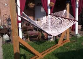 how to make a diy wooden hammock stand cloud media news