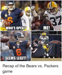 Packers Bears Memes - 25 best memes about bears vs packers bears vs packers memes