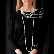 pendant necklace lengths images Pearl sizes necklace lengths colors shapes the pearl stone jpg