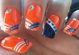 20 denver broncos nail art ideas for super bowl 50