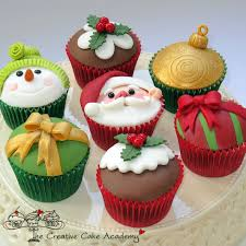 cupcakelovers christmas cupcakes and decoration 2014