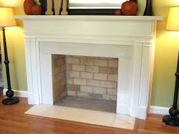 faux brick fireplace images cast stone world hearth mantel