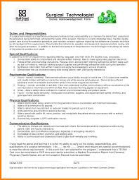 radiologic technologist resume skills pretty looking surgical tech resume sample 11 surgical