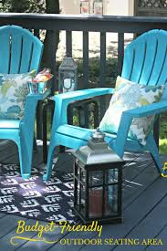 budget friendly outdoor seating area elle olive u0026 co
