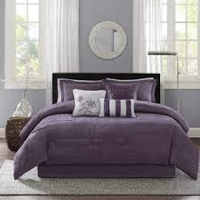 Purple Velvet Comforter Sets Queen Size Queen Purple Comforter Sets For Less Overstock Com