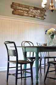a nurse and a nerd house tour the wall between the dining room and kitchen is gone we added beadboard wainscoting to tie the two rooms together we upgraded the door that leads to the