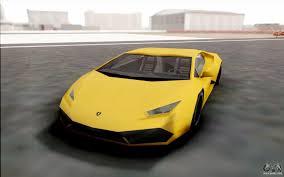 Lamborghini Huracan Back View - lamborghini huracan for gta san andreas