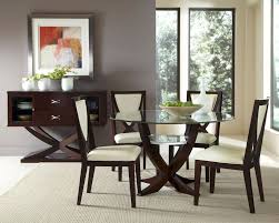 Round Glass Dining Room Table by Glass Top Dining Sets Glass Dining Room Sets Modern Dining