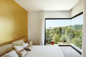 chambre or peinture murale jaune couleur or et orange 25 propositions