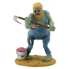 halloween collectible figurines zombie redneck hillbilly walking dead statue horror zombie statue