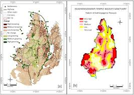 Map Of South India by Remote Sensing Free Full Text Assessing Habitat Quality Of