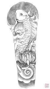 koi sleeve tattoos pinterest koi tattoo and sketch tattoo