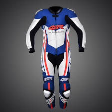 motorcycle racing gear 4sr one piece suit racing replica lemans leathers leathersuit