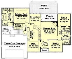 european style house plan 3 beds 2 00 baths 1900 sq ft plan 430 43