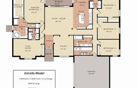 small 4 bedroom floor plans modern house plans small 4 bedroom plan with master one interior