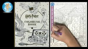 mini coloring book harry potter coloring book by scholastic owl wizard magic speed