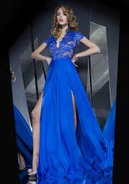 aliexpress com buy 2017 royal blue evening dress deep v neck