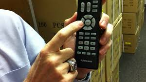 the original mitsubishi tv remote control youtube
