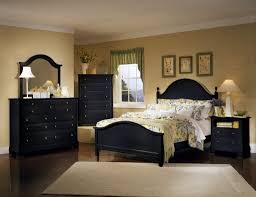 bedroom queen size black bedroom sets with black four poster bed