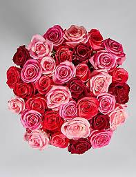 valentines day flowers u0026 luxury rose gift bags for him u0026 her m u0026s