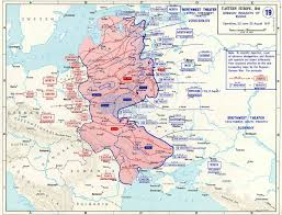 World War Ii Maps by Map Map Of Operation Barbarossa 22 Jun To 25 Aug 1941