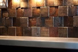 wood backsplash kitchen reclaimed wood backsplash tiles home design ideas
