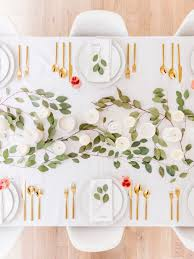 simple modern valentine u0027s day tablescape happy grey lucky
