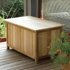 outdoor storage bench waterproof treenovation