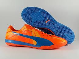 Jual Evospeed Futsal evospeed trick blue orange ic sepatu futsal tokoluvi error