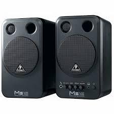black friday studio monitors behringer behringer ms16 active 16 watt personal monitor system