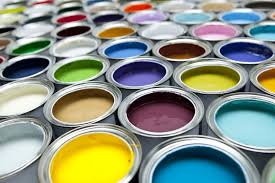 colourful paint pots hd free foto