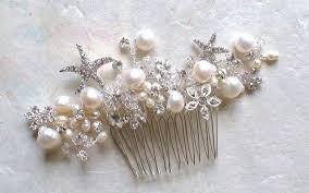decorative hair combs starfish bridal hair comb starfish hair accessories bridal