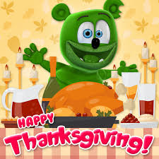 happy thanksgiving gummibär