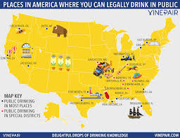 United States Map Kansas City by Map Every Place In America Where You Can Legally Drink In Public