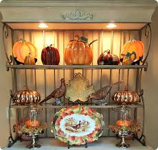 Decorating A Bakers Rack Ideas Autumn Inspired Bakers Rack Life And Linda