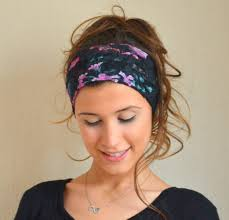 stretchy headbands black floral cotton lace stretchy headband headband ear