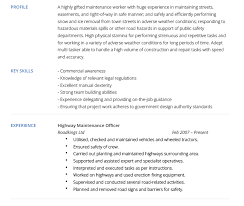 Maintenance Supervisor Resume Sample by Maintenance Technician Resume Sample Resumecompanioncom Building