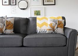 Sofa Cushions Foam by How To Stuff Your Sofa Cushions And Give Them New Life