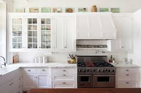 White Glass Cabinet Gorgeous Glass Doors In Kitchen Cabinets Best 25 Glass Cabinet