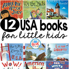 12 usa books for little kids a dab of glue will do