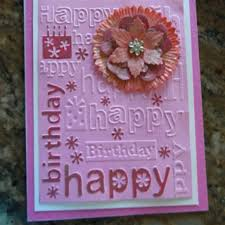 165 best cards embossed happy birthday images on pinterest happy