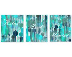 Teal Home Decor by Bathroom Wall Decor Teal Bathroom Decor Turquoise Navy Aqua