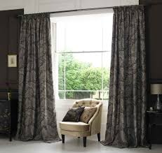 amazing modern style black colors window curtains rectangle marble