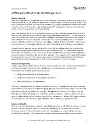 Hr Generalist Resume Examples by Choosing The Right Api Management Solution For The Enterprise User
