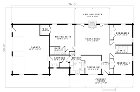 ranch style floor plans house plan chp 21123 at coolhouseplans